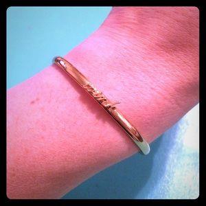 "Kate spade New York ""wink"" bracelet NWOT"