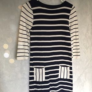 ASOS striped cotton dress