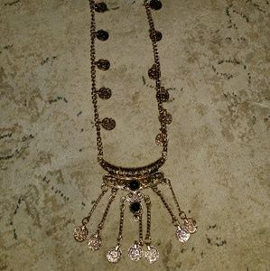 Jewelry - Antique Gold Boho Coin Necklace