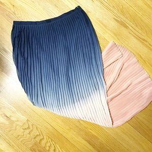 Cynthia Rowley sheer skirt