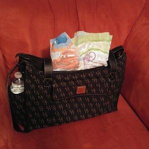 dooney bourke diaper bag on poshmark. Black Bedroom Furniture Sets. Home Design Ideas