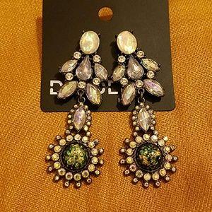 H&M Divided Dangling Earrings