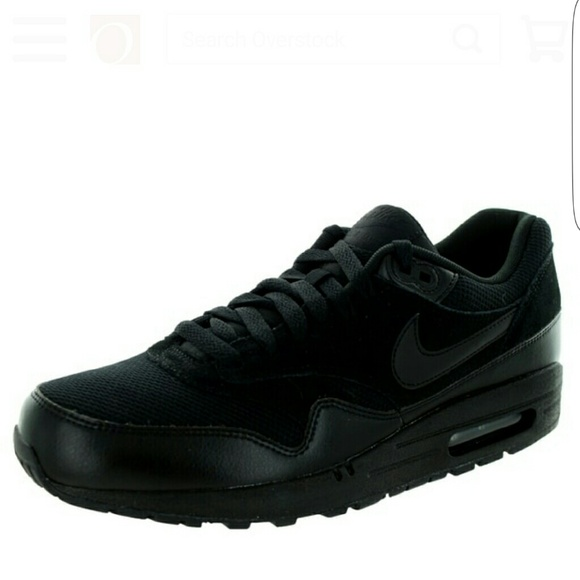 Nike Wmns Air Max 1 Essential Black Men's Running Shoes 537383 025