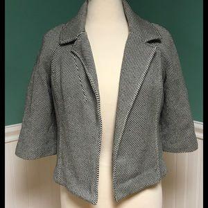 Michael Kors Jackets & Blazers - Michael Kors Striped Herringbone Jacket