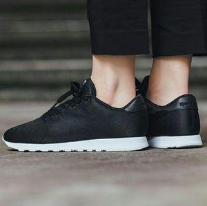 Reebok Mujeres De Los Zapatos Clásicos Negros 4vIw1DlLb