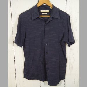 Perry Ellis Other - Mens Short Sleeve Button Down