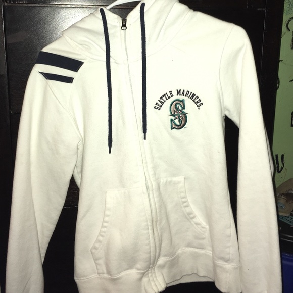 White Limited Edition Mariners Hoodie Size S