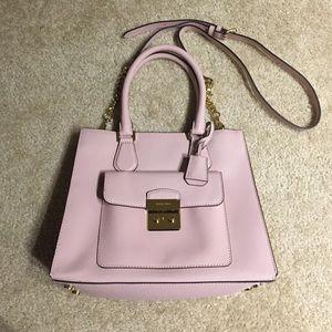 Michael Kors Handbags - NWOT Pink Saffiano Leather Hamilton Crossbody