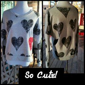 Olsenboye Tops - TOO CUTE!!! Sweatshirt in Medium