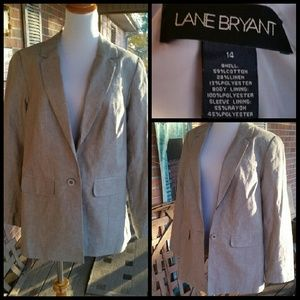 Lane Bryant Jackets & Blazers - Gorgeous Gray Jacket by Lane Bryant