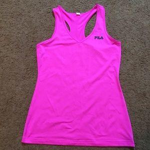 Fila Tops - Fila Women's Athletic Workout Shirt Large