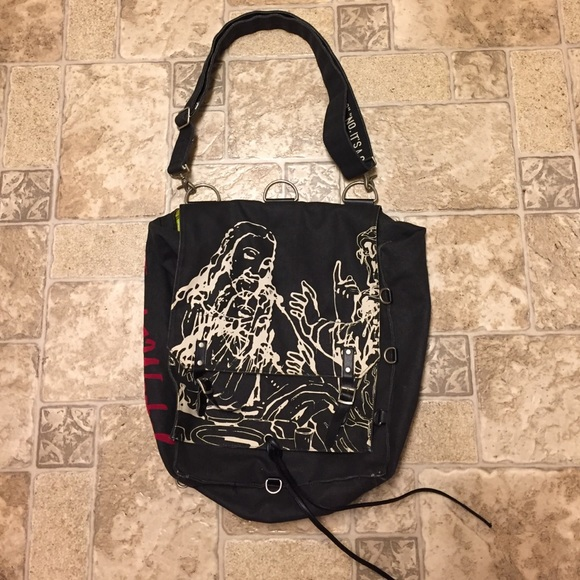 ec528719ec andy warhol Handbags - Andy Warhol Loop Last Supper messenger bag