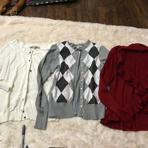 Sweaters - Size Small cardigans set Of 3 bundle to save!