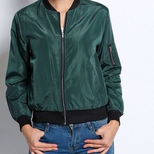DARLING Jackets & Blazers - 🆕 GREEN BOMBER JACKET