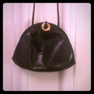 Vintage Snakeskin crossbody bag!