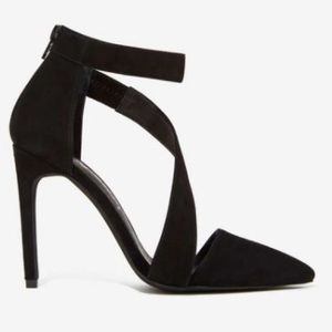 Jeffrey Campbell Shoes - Jeffrey Campbell suede heels