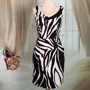 Muse Dresses & Skirts - Muse Black and White Sleeveless Dress