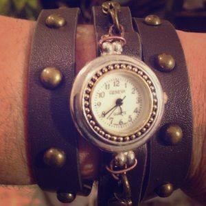 11 By Boris Bidjan Saberi Accessories - Geneva bracelet watch