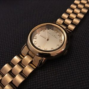 Gold Marc By Marc Jacobs Steel Bracelet Watch