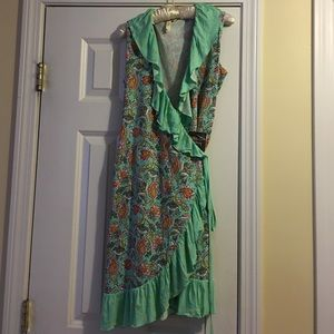 NWT Matilda Jane Wrapped in Sunshine Wrap Dress