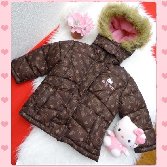 2f13341fa Hello Kitty Jackets & Coats | Girl Puffer Jacket 2t | Poshmark