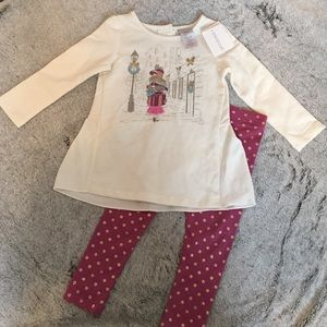 savannah Other - NWT baby two piece matching set. Size 24 months