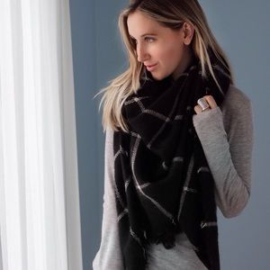 Accessories - Central Park Plaid Blanket Scarf