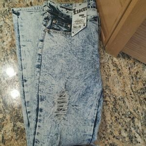 Exocet Denim - Exocet distressed jeans, size 11, NWT