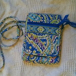 Vera Bradley mini hipster quilted bag