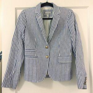 J.Crew Schoolboy Striped Blazer