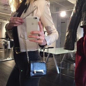 DVF mini crossbody purse