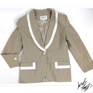 Lord & Taylor Jackets & Blazers - Lord & Taylor Blazer Trimmed Suit Jacket