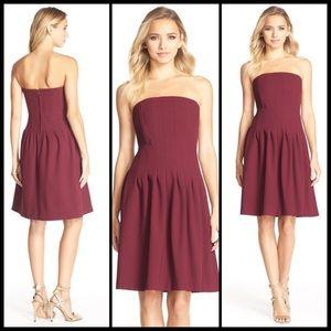 KAYA & SLOANE ♠️ Strapless Dress w POCKETS NWT