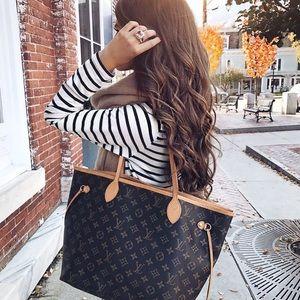 Louis Vuitton Handbags - Louis Vuitton Mimosa Neverfull MM bag & Pouchette