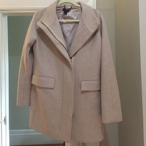 J Crew Coat - stadium cloth cocoon coat