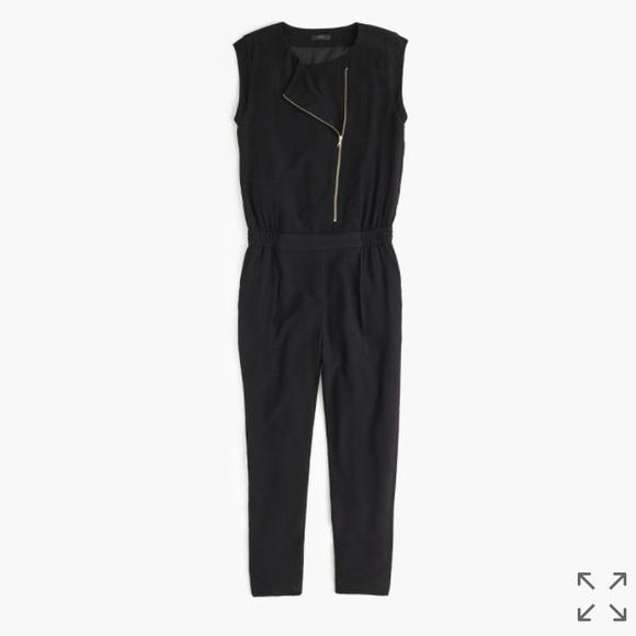 J. Crew Pants - J. Crew Asymmetrical Zip Jumpsuit