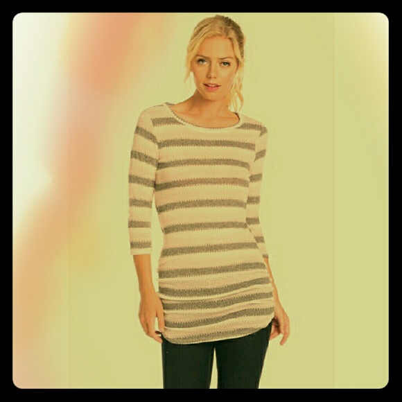 Blossom Apperal Sweaters - 🆑SALE! *Striped Top or Dress!*
