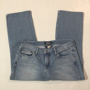 Lucky Light Wash Crop Jeans