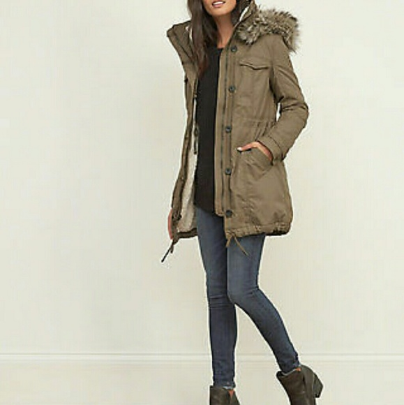 75% off Abercrombie & Fitch Jackets & Blazers - Sherpa-lined ...
