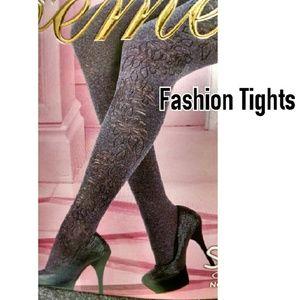 Accessories - ITALIAN Fashion Tights BROWN/MAUVE