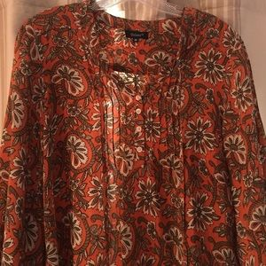 Fabulous silk tunic dress