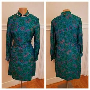 Stunning vintage Thai silk dress