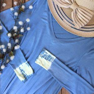 20% OFF BUNDLESTye-Dye Long Sleeve Tee Dress