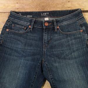 LOFT Denim - Loft Size 0 Curvy Skinny Jeans