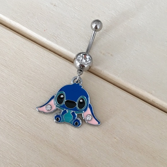 Stitch Belly Button Ring