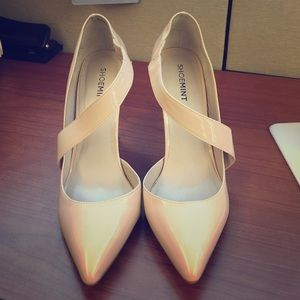 ShoeMint Wendy (Nude) 8.5 Heel