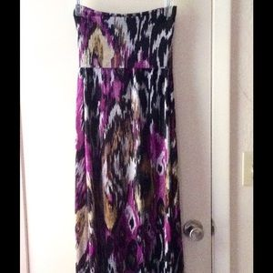Bisou Bisou maxi skirt, can be worn as dress