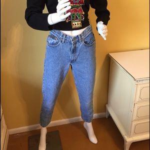 Vintage Calvin Klein classic 5 pocket jeans.