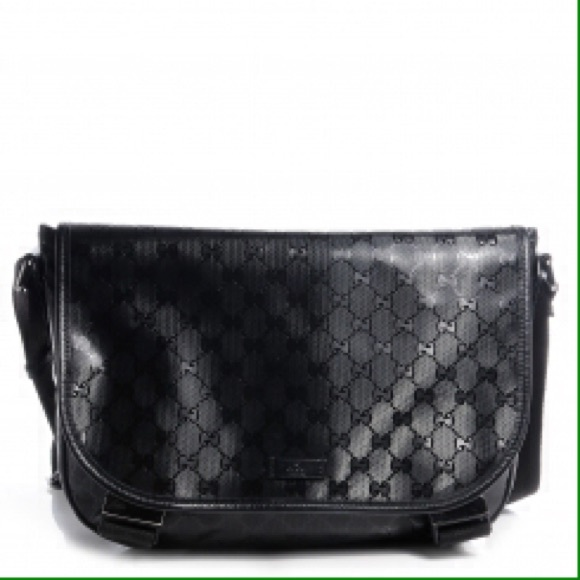 5c86400cb759 Gucci Bags | Monogram Medium Messenger Bag Black | Poshmark