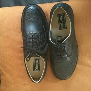 Simple Other - ✂📉PRICE SLASHED📉✂NIB Men's leather wing tips